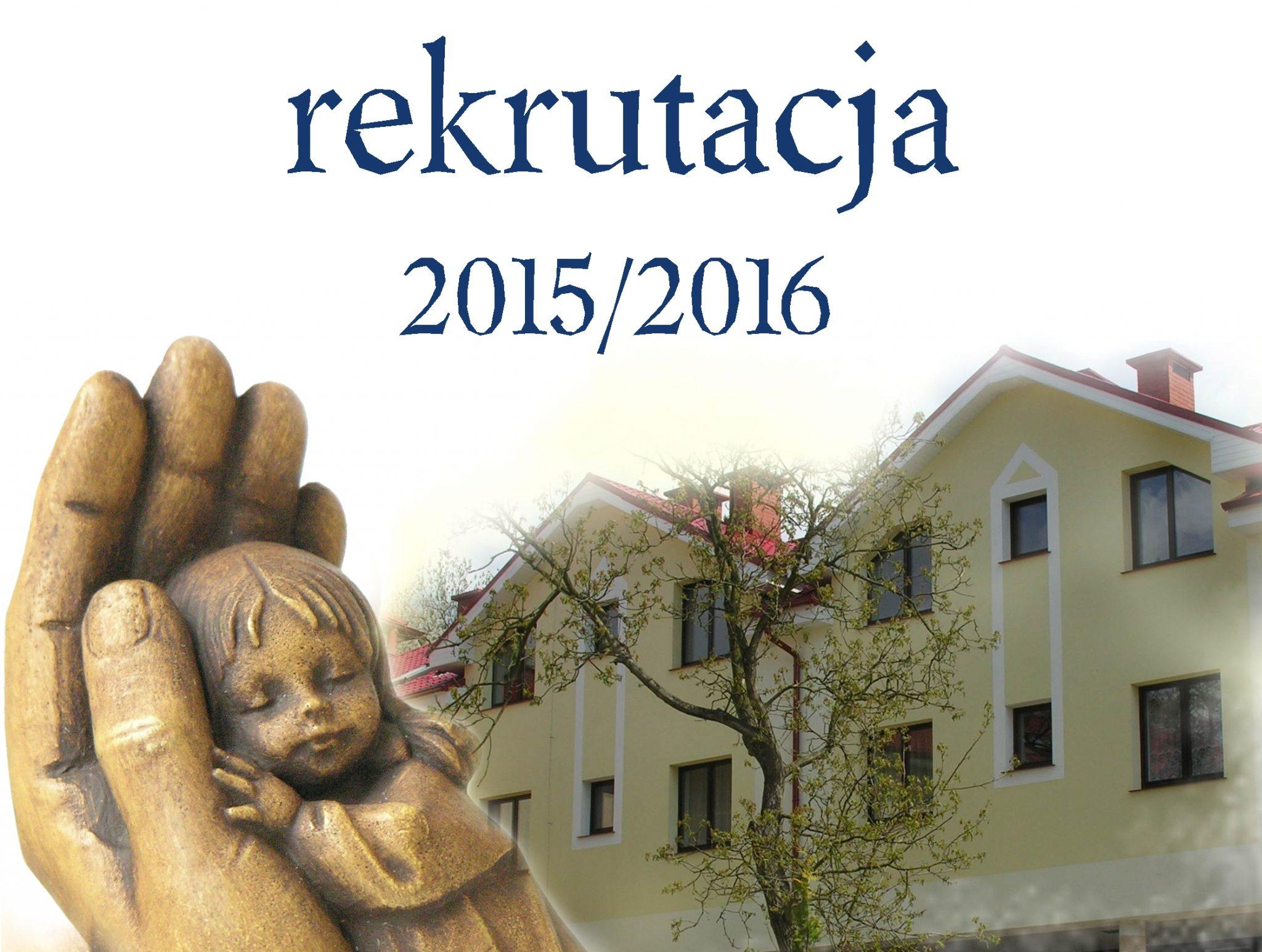 rekrutacja 2015-2016