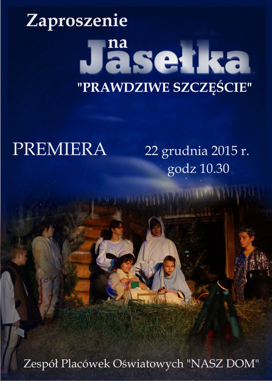 plakat jasełka 2015
